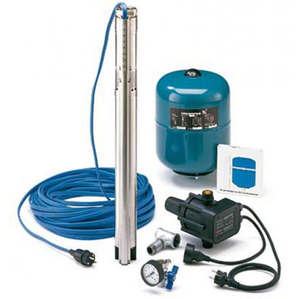 Комплект для поддержания постоянного давления Grundfos SQE 5-70