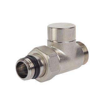 Вентиль отсекающий прямой ELSEN EVR03 – 3/4″EK x 1/2″ (НР, PN16, Tmax 150°С)